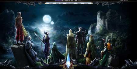 Saizenmedia.com/FFIV/ - сайт игры Final Fantasy IV от Saizen Media Studios