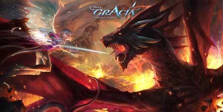 Saizenmedia.com/gracia/  - обожаю драконов с дымящимися ноздрями