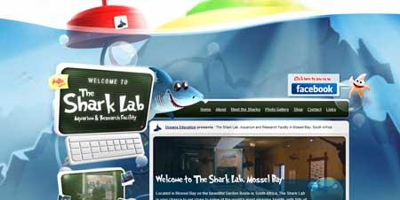 Shark-lab.co.za - интересный сайт акульей лаборатории из Южной Африки