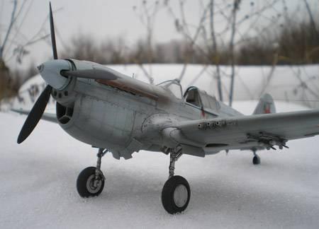 советский самолет масштабная модель