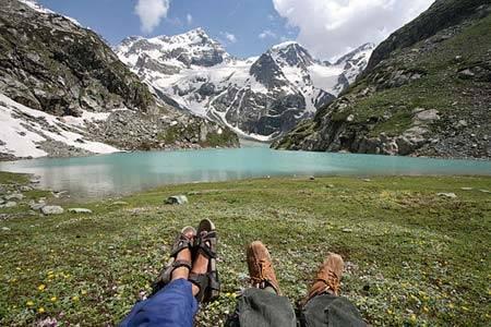 горное озеро фото