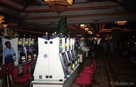 Игральные автоматы в «Mandalay Bay»