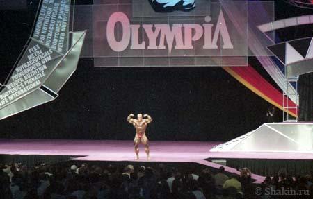 Маркус Руль на конкурсе «Мистер Олимпия»