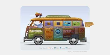 Oddodesign.com - креативный сайт консультанта по дизайну из Техаса Томми Оддо