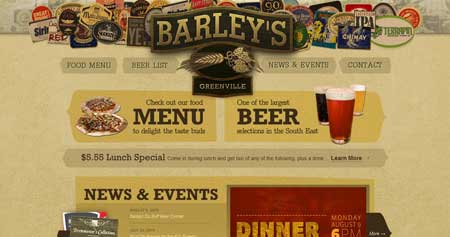 Barleysgville - а это сайт для любителей пива из штата Южная Каролина