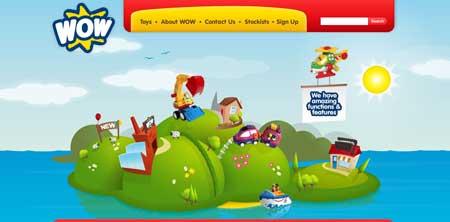 Wowtoys.com - веселый сайт детских игрушек
