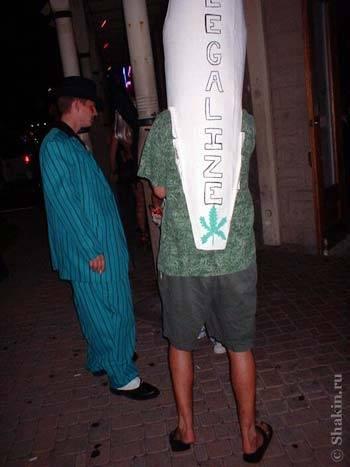 Halloween человек-косяк Legalize