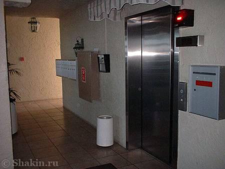 Лифт в обычном американском доме