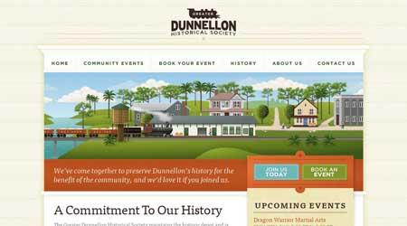 Dunnellondepot.com - стильный дизайн сайта