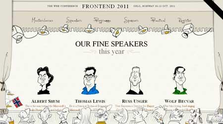 Frontend2011.com - сайт конференции веб-разработчиков