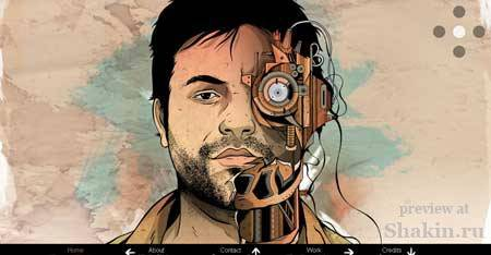 Francescomugnai.com - сайт итальянского блоггера и дизайнера Франческо Мугнаи