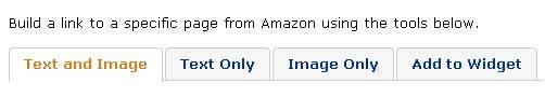 Партнерская программа Amazon.com выбор из четырех опций