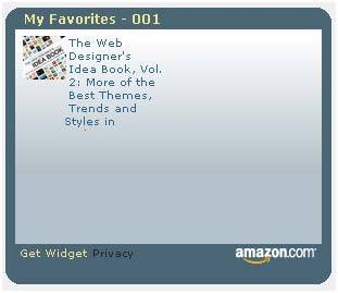 Amazon Add to Widget – добавить в виджет