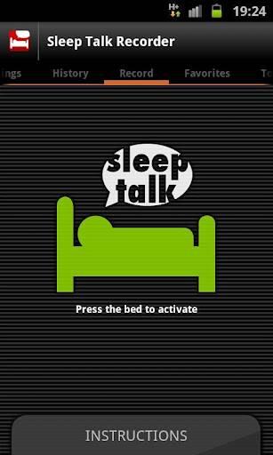 Sleep Talk Recorder классное приложение для Андроид