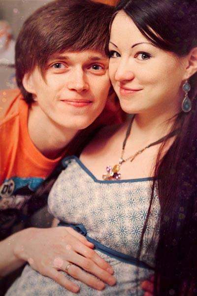 Александр Алаев с женой
