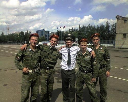 Александр Борисов с друзьями