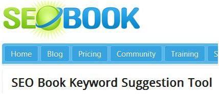 SEO Book инструмент бесплатного подбора поисковых запросов