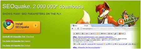 SeoQuake расширение для браузеров