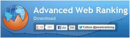 Программа для поиска ключевых слов Advanced Web Ranking