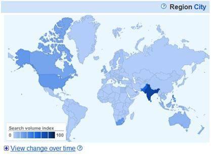 Google Insights просмотреть изменение во времени