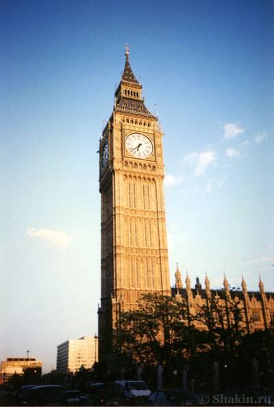 Биг-Бен в Лондоне