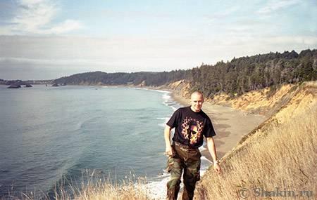 Берег Тихого океана в Калифорнии