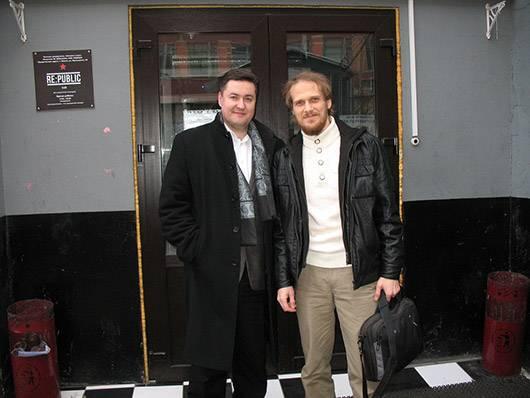 Максим Довженко и Сергей Кокшаров