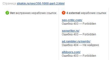 скриншот из программы Website Auditor