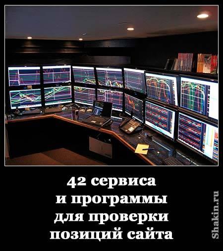 42 сервиса и программы для проверки позиций сайта