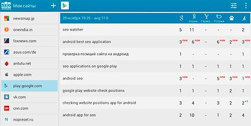 seo watcher для android