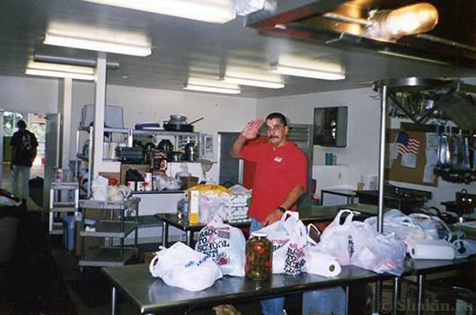 Мой друг, повар Альберт Лопес из Пуэрто-Рико