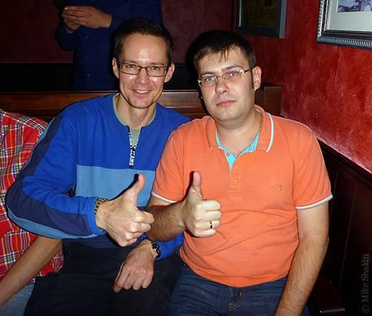 С Алексеем Паньшиным