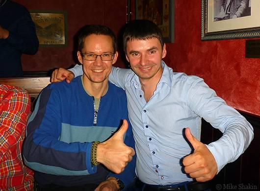 С Евгением Степановым