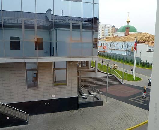 вид на главный вход казанского IT-парка
