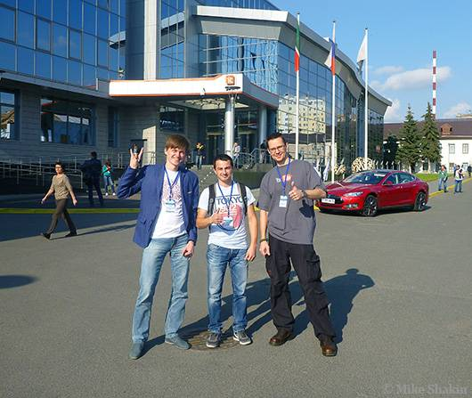 Фото с Александром Алаевым и Дмитрием Ермошкиным