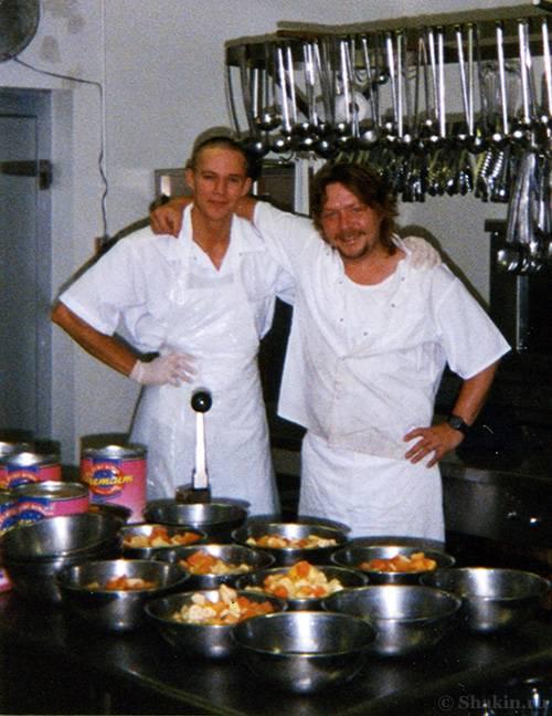 Я с главным поваром Риком
