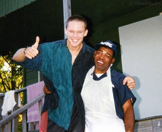 Я с легендарным Стиви Али
