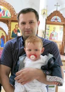 Виталий с крестницей