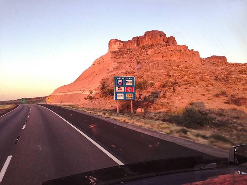Дорога в Аризоне