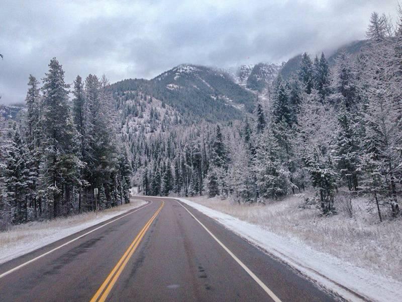 Трасса US 2 в штате Вашингтон