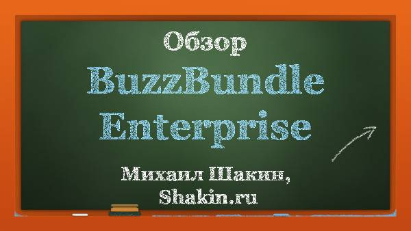 Обзор BuzzBundle Enterprise