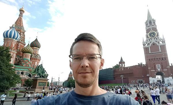 погулял по Красной площади