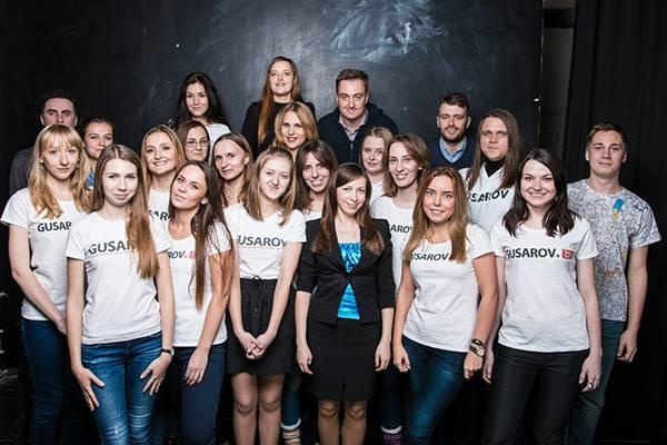Команда Gusarov