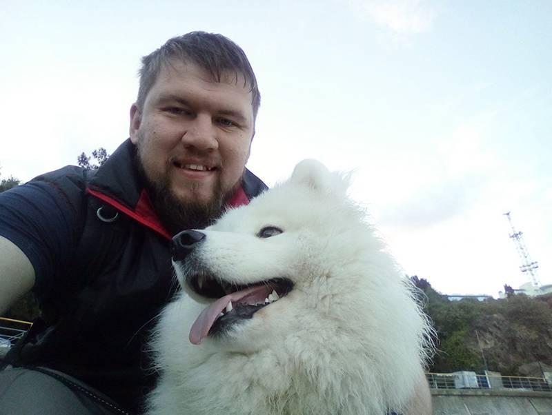 с собакой 2