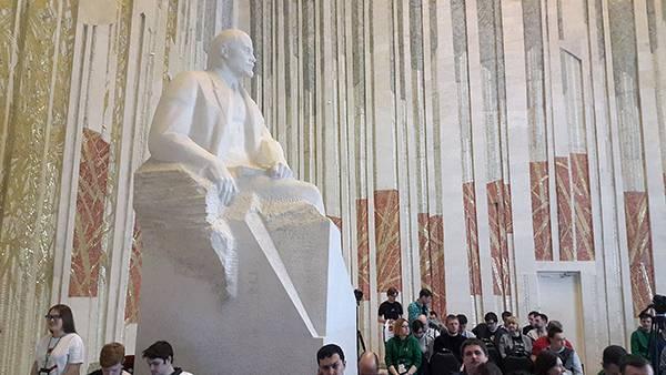 Торжественный зал Ленинского мемориала в Ульяновске