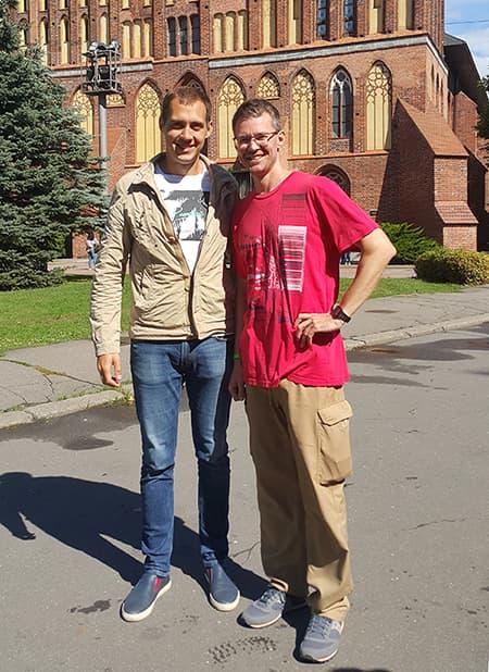 С Тимофеем Бугровым
