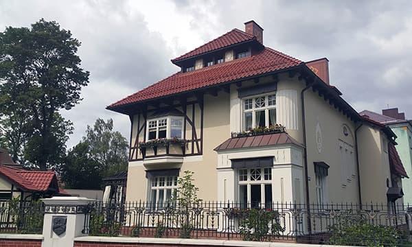 Вилла 1909 года постройки в районе Амалиенау