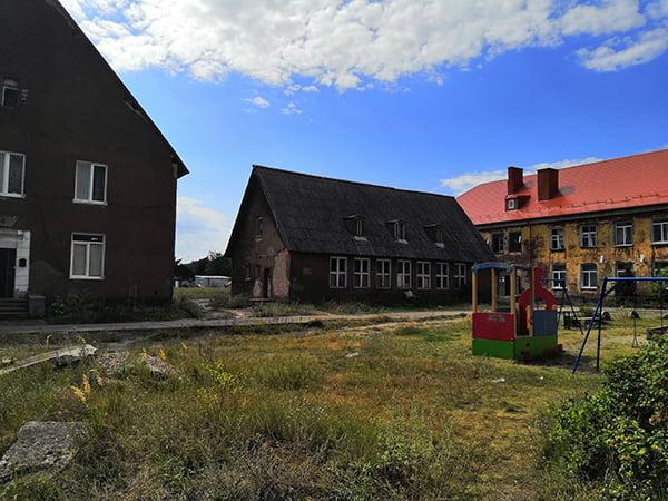 старые дома немецкой постройки
