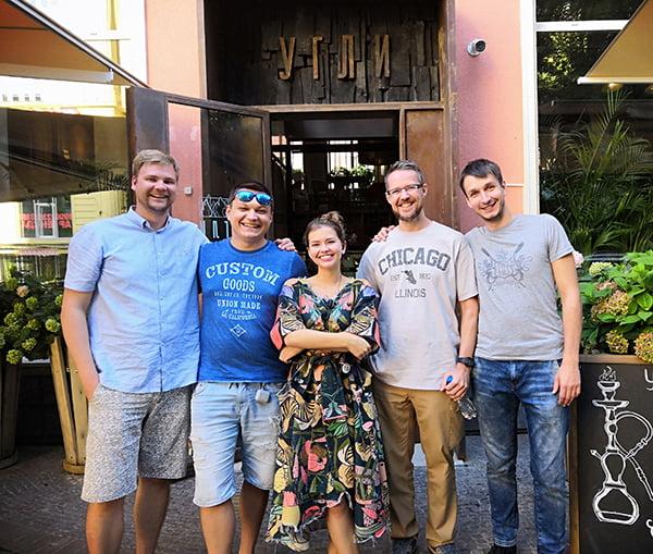 ресторан Угли в Калининграде