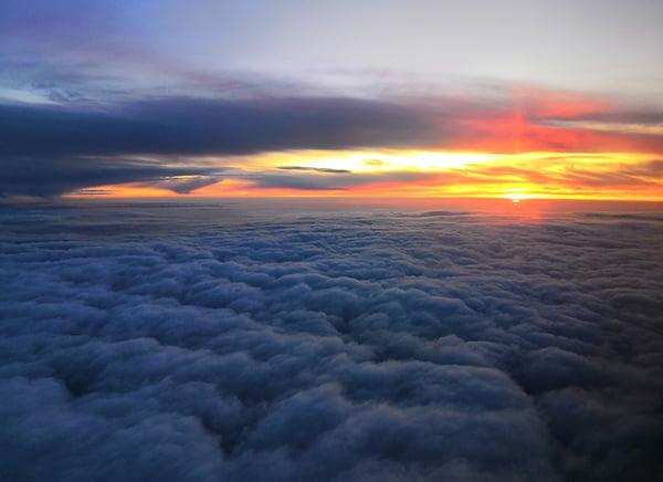небо над Сибирью